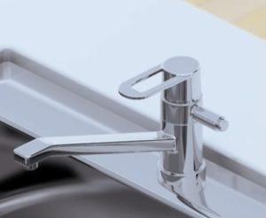 混合水栓シングルレバーイメージ