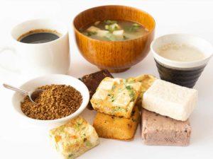 コーヒーや味噌汁、スープ、ベビーフードなど